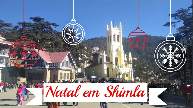 Igreja de Cristo em Shimla, na Índia