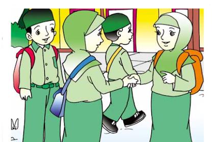 Update Soal UAS Ganjil PAI Kelas 4