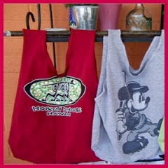 Bolsas con camisetas