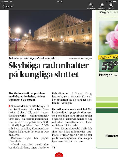 radonhalter slottet