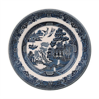 Blue Willow Plates