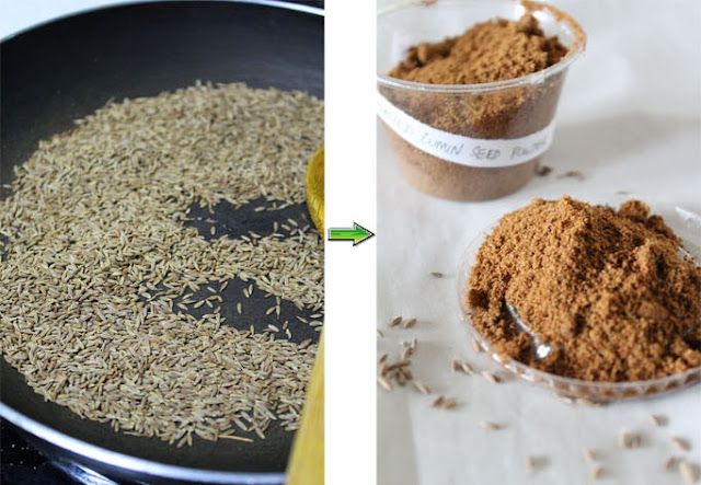 Cumin Seeds – How to Make Roasted Cumin Powder at Home