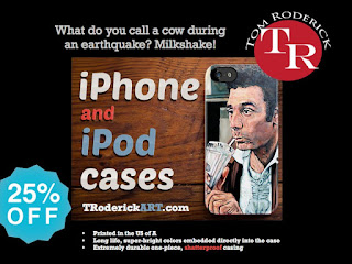 coupon code MYSTYLE 25% off phone cases by Tom Roderick