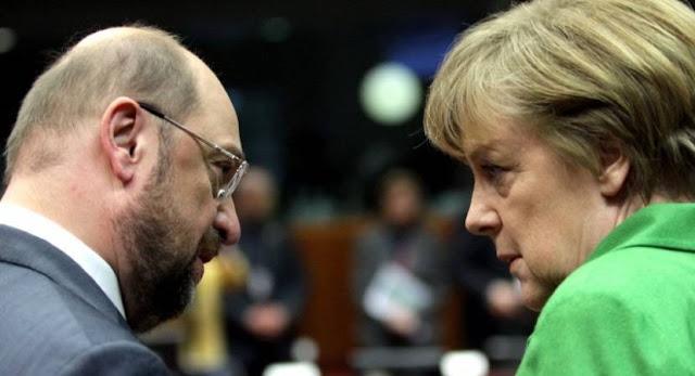 Μέρκελ και Σουλτς συμφωνούν: «Η Τουρκία δεν πρέπει να γίνει μέλος της Ε.Ε.»