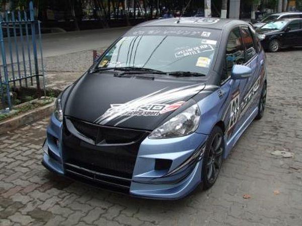 Modifikasi Honda Jazz 2004   Informasi Modifikasi Mobil