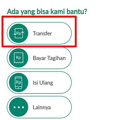 Menu Transfer