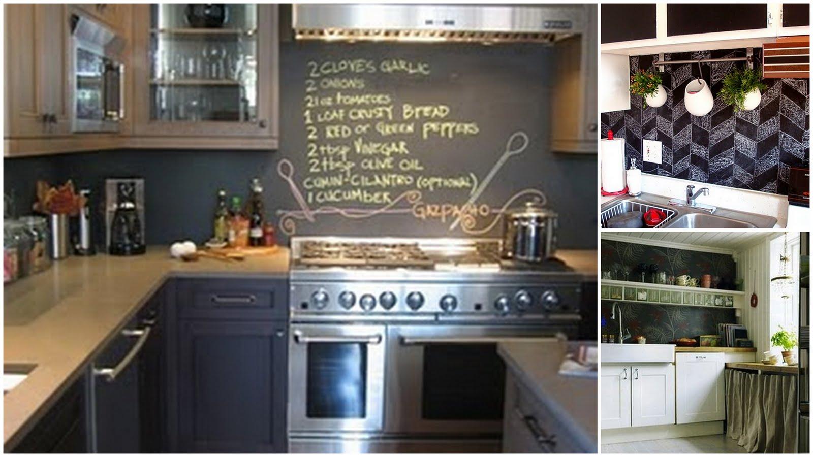 House on ashwell lane no tile backsplash ideas part 2 for Alternative kitchen backsplash ideas