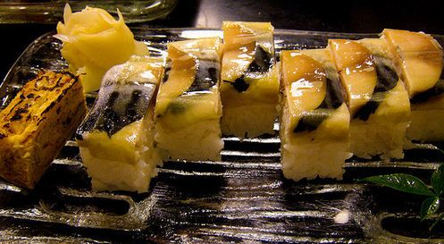 บัตเทระซูชิ (Battera Sushi)