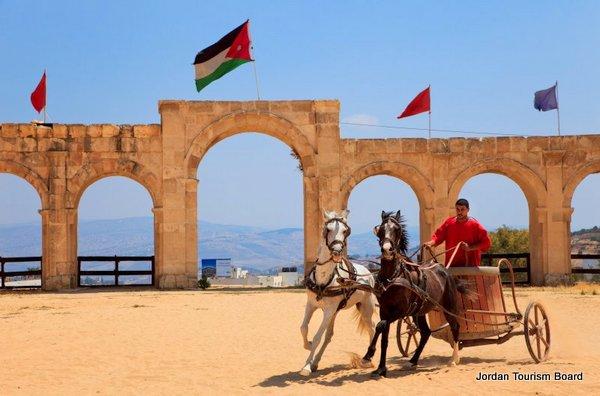 Representación en el Hipódromo (Jerash, Jordania)