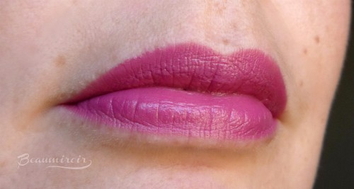 Bite Beauty Mauvember Lipstick: lip swatch