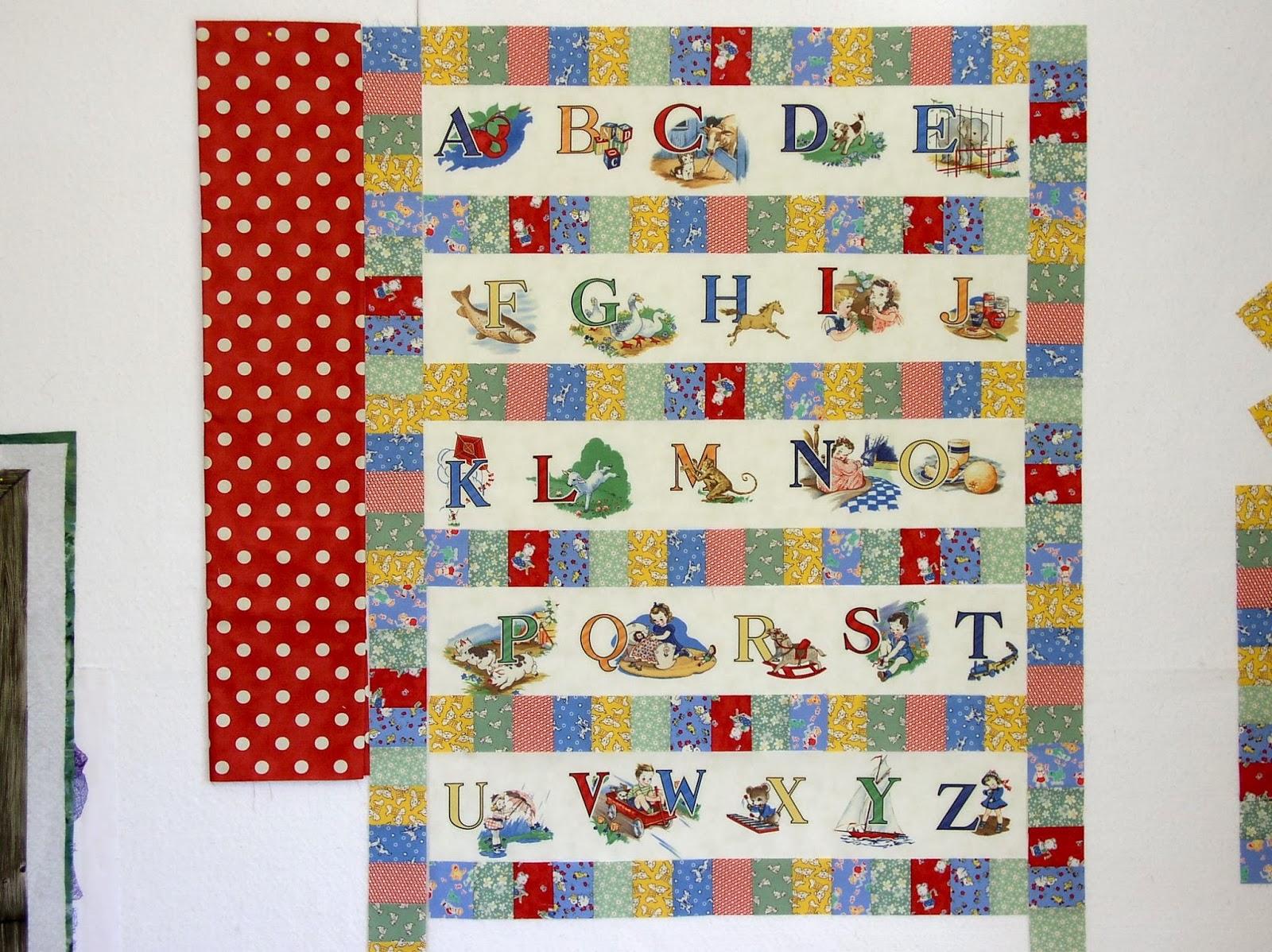 LuAnn Kessi: Baby Quilt 1....ABC : abc quilt - Adamdwight.com