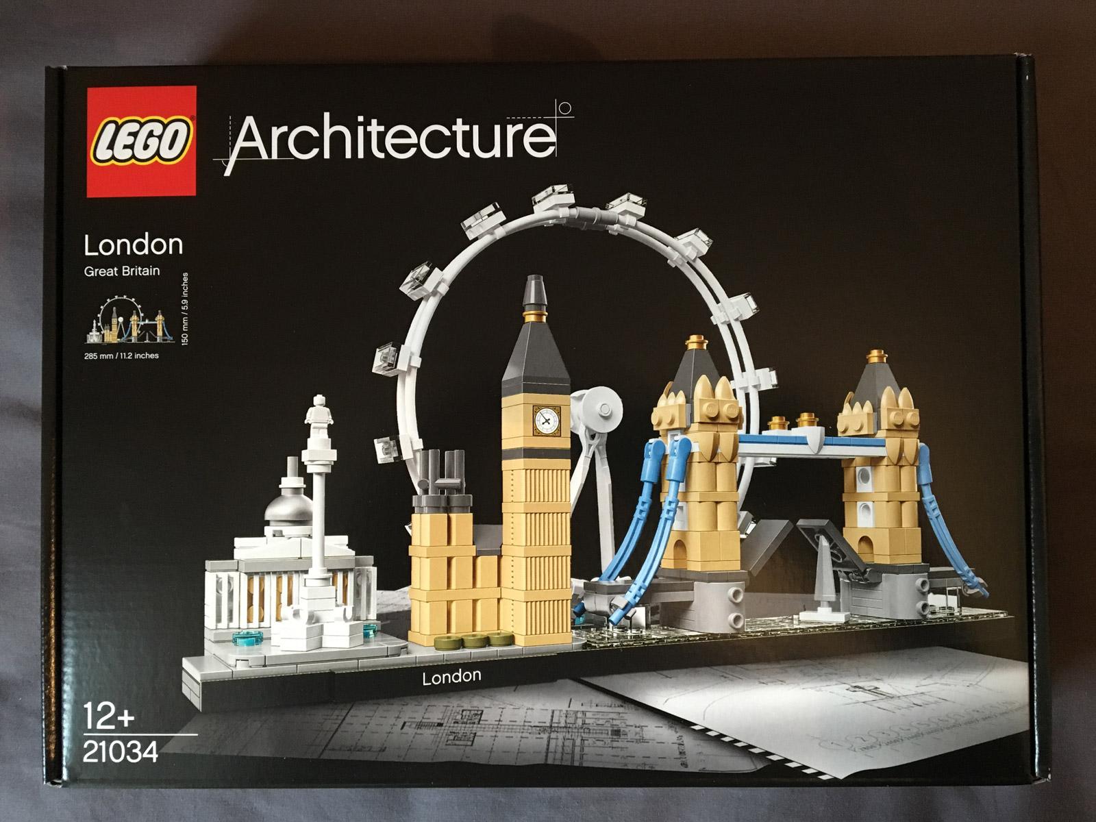 London Eye Big Ben, LEGO 21034 Architecture London Skyline Model Building Set