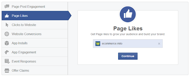 Facebook advertising: Page Likes