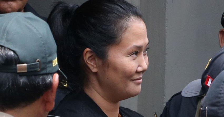 KEIKO FUJIMORI: Poder Judicial ve hoy casación para revertir la prisión preventiva de 36 meses