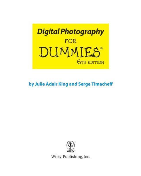 Portada libro: Fotografia digital para torpes