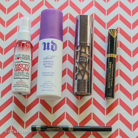 Way to Grow, Urban Decay, Max Factor Makeup