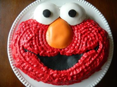Excellent Birthday Cakes Of Elmo The Cake Boutique Funny Birthday Cards Online Necthendildamsfinfo
