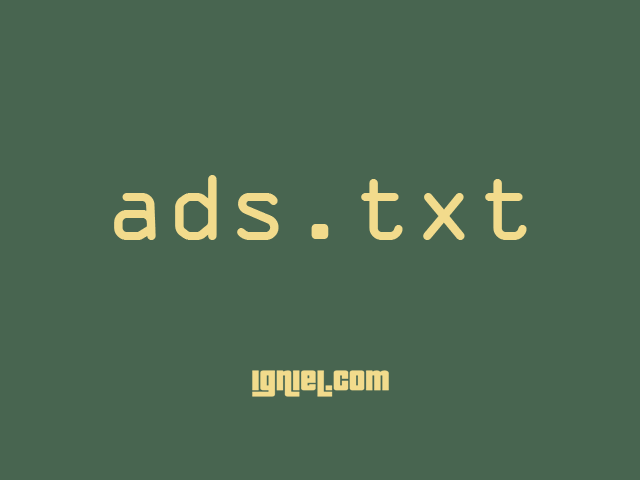 Cara Memasang ads.txt AdSense di Blogger