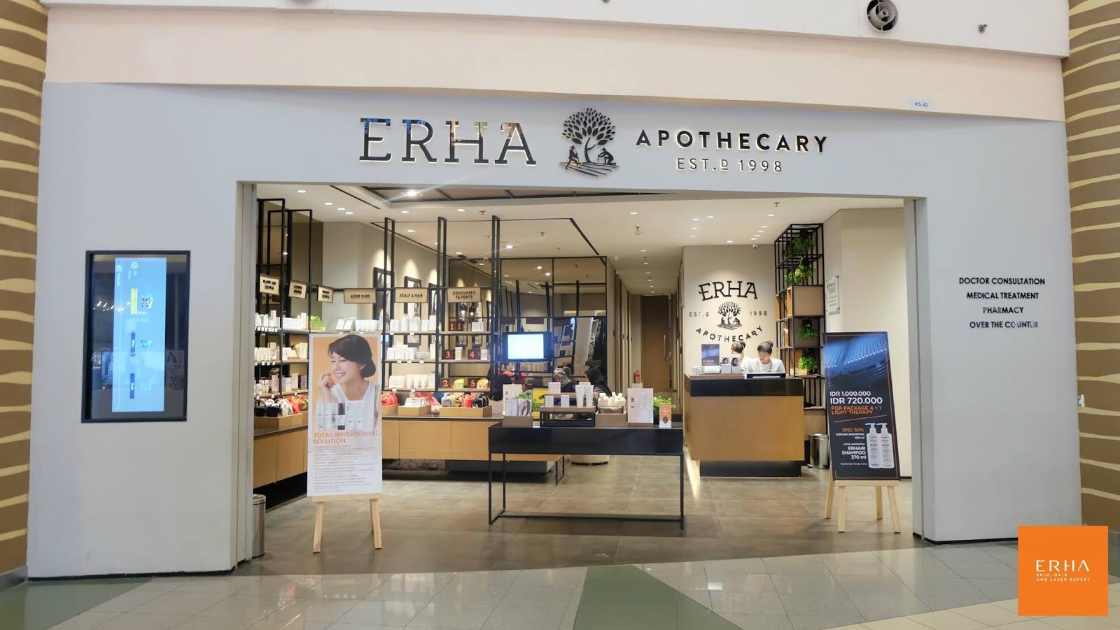 Review Erha Age Corrector dan Botox dan Filler di Erha Clinic
