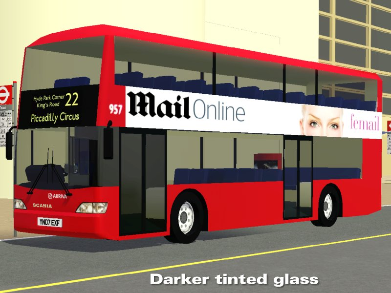 Simming In Magnificent Style London Bus Route 22