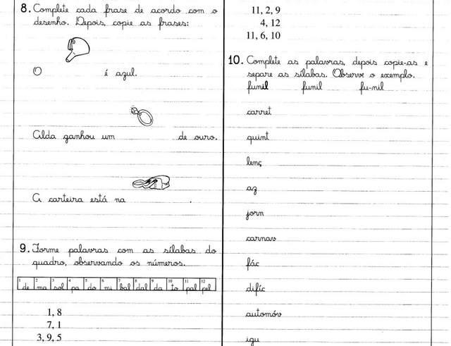 Atividade sílaba Complexa - AL EL IL OL UL - DIFICULDADES ORTOGRÁFICAS