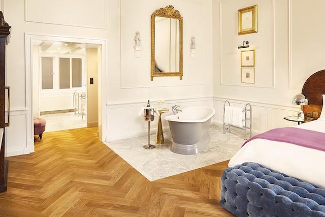 Melhores hotéis em Amsterdã - quarto do hotel Pulitzer