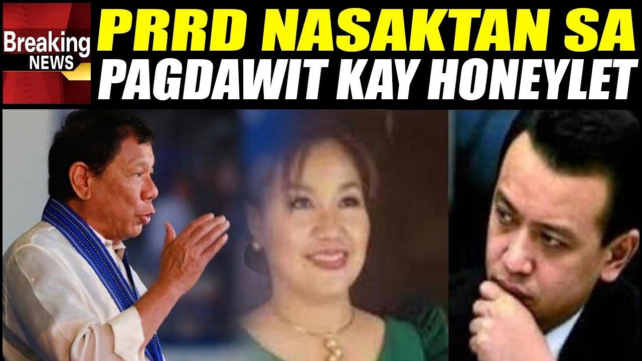 Pres. Duterte Umaray Na Sa Pagkadawit Ng Asawa