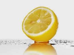 Natural lip color lemon