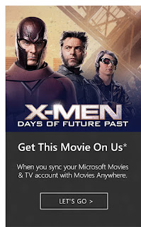 Get X-Men: Days of Future Past for Free (limited time offer)