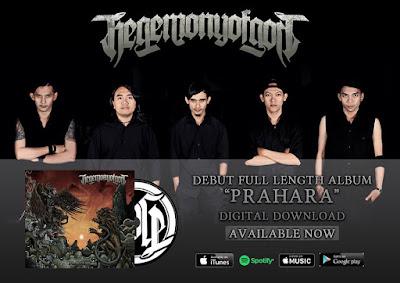 """Album streaming : Hegemony Of God  """"Prahara"""""""