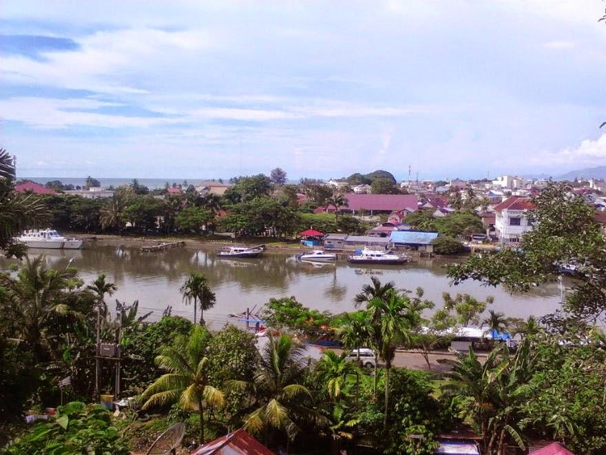 Kawasan Pelabuhan Muara Padang