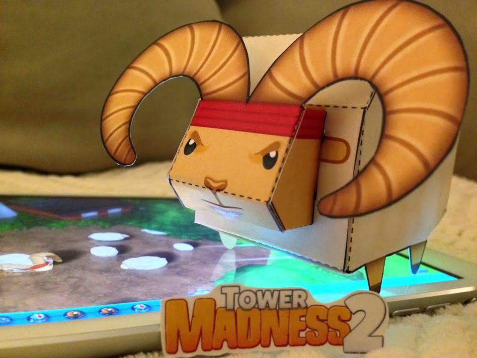 TowerMadness 2 Papercraft Bo