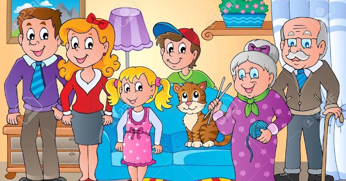 Картинки с семьей для дошкольников