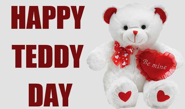 Teddy Day Greetings Cards 2018