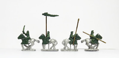 Cataphracts, half-armoured x 4: