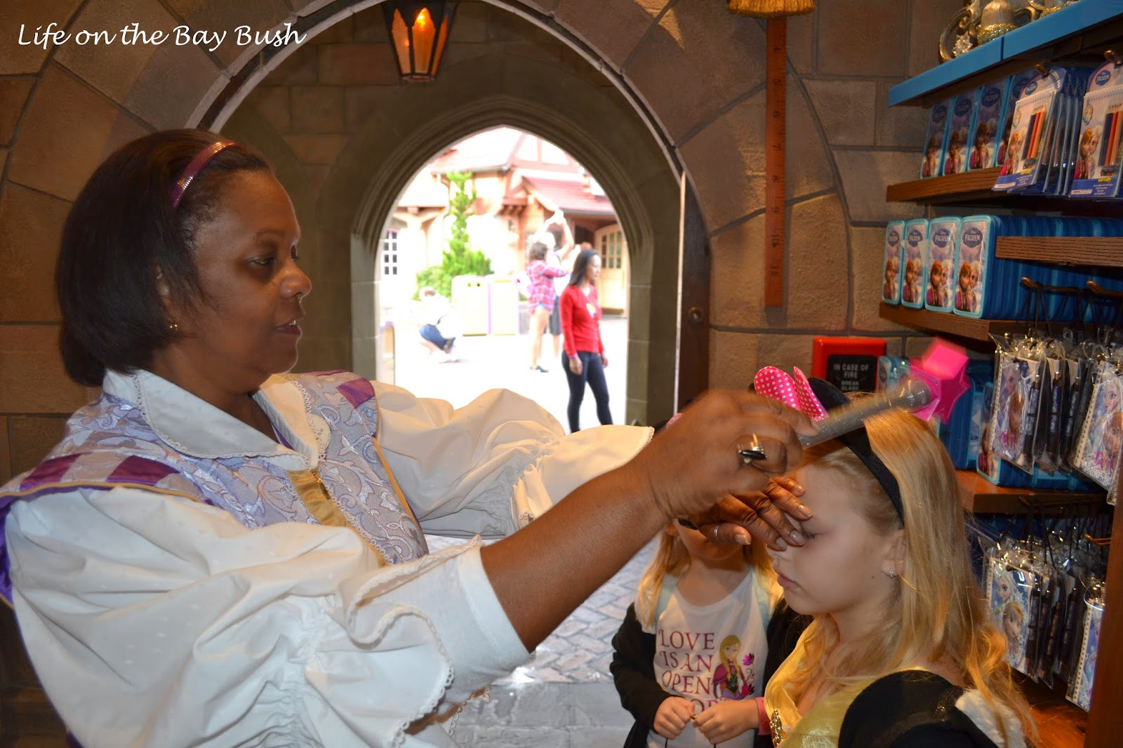 Getting Pixie Dust at the Magic Kingdom