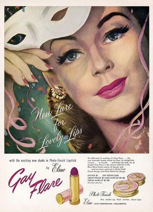 Vintage Lipstick Ads Vintage Everyday