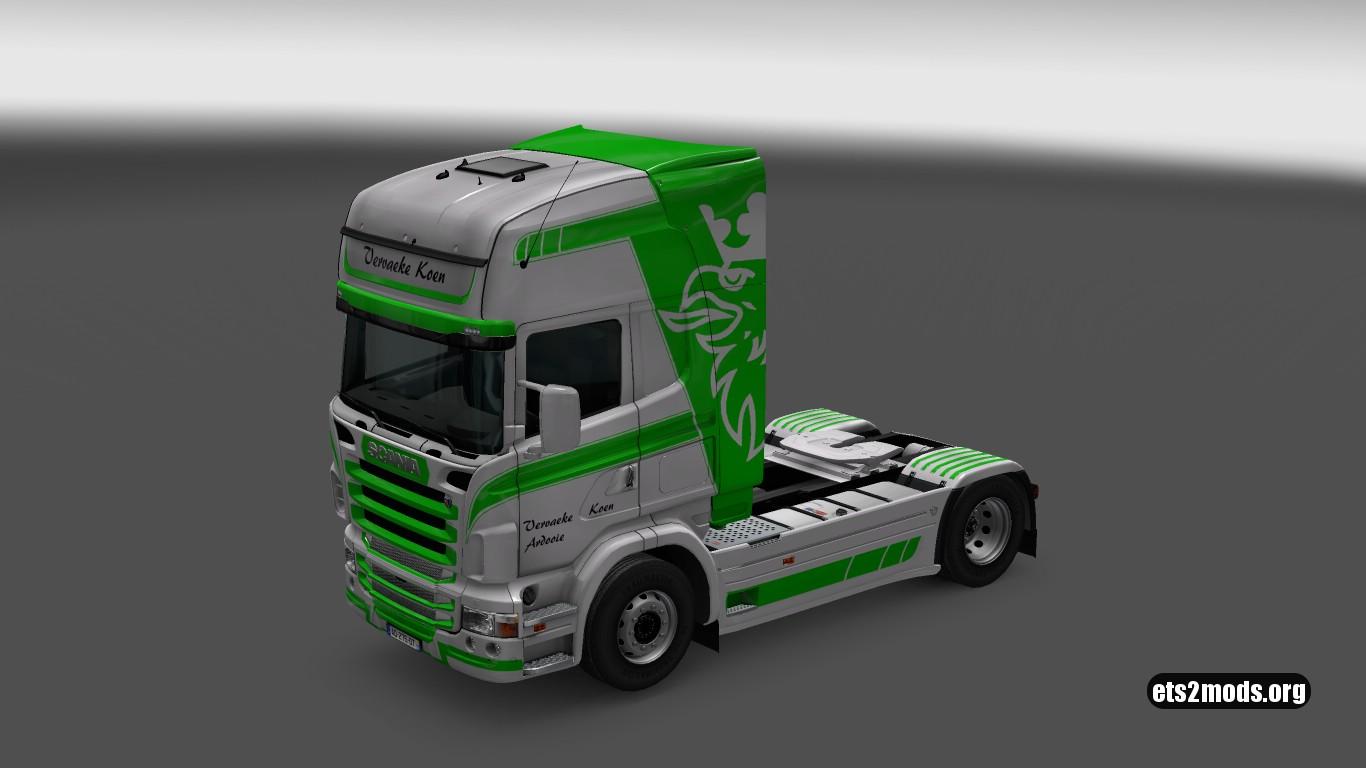 Vervaeke Skin for Scania RJL