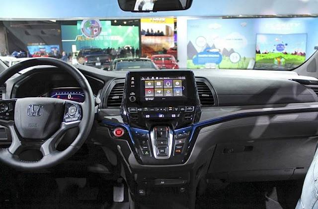 2018 Honda Odyssey Redesign