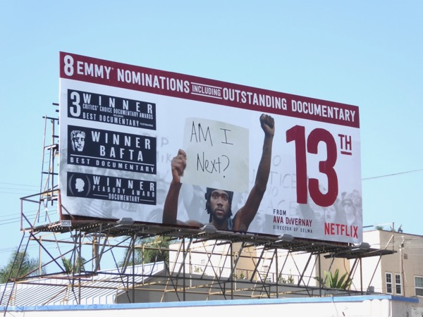 13th documentary Emmy nominee billboard