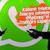 Whatsapp'ın internet kotasını tüketen özelliği