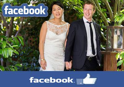 Zuckerberg and Priscilla's wedding