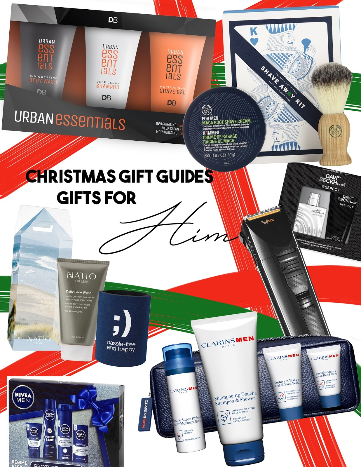 if you know a guy who is somewhat beauty inclined or you would like to convince him to be buy buying him some gifts then these options might suit you