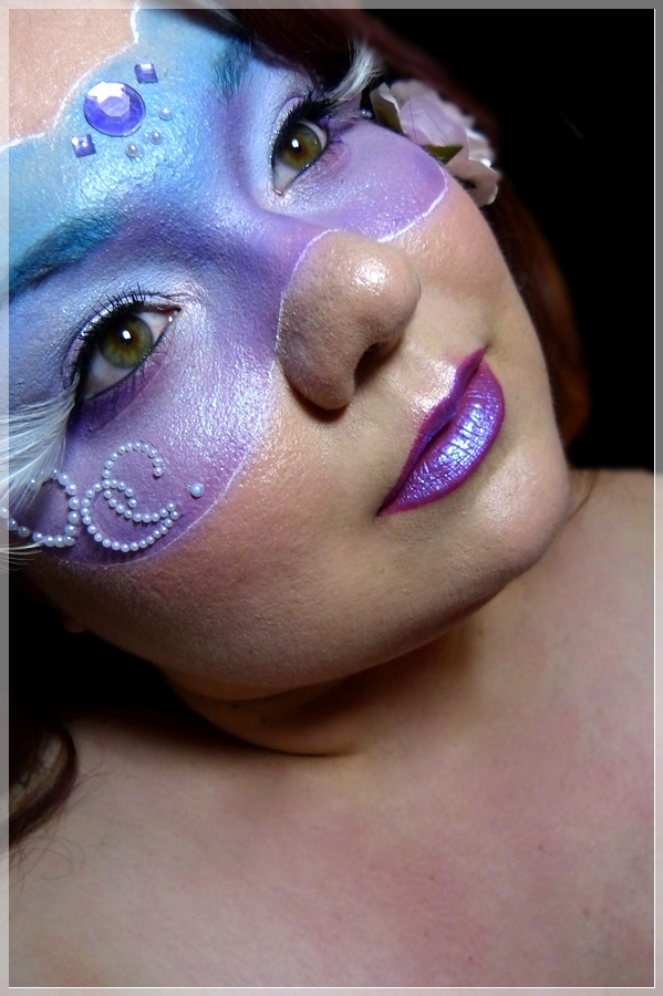 beauxbatons Makeup look