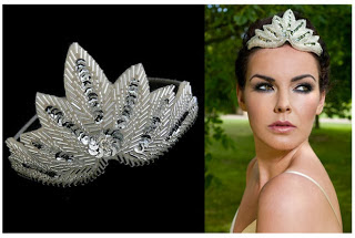 Great Gatsby style headpiece