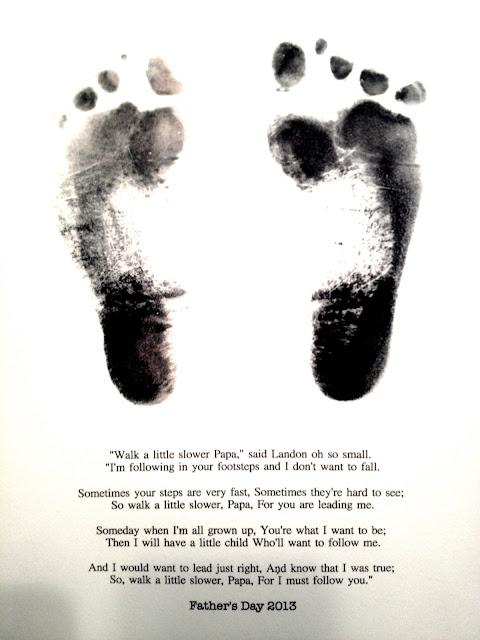 Mumma S Corner Father S Day Footprint Craft