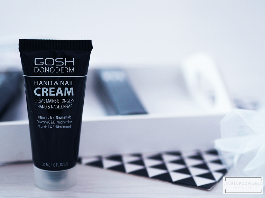gosh donoderm hand and nail cream