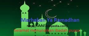 Cara Mudah Membuat Ucapan Marhaban Ya Ramadhan Di Blogger