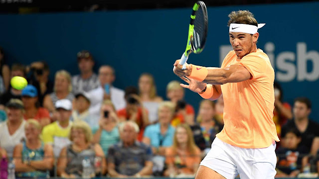 Rafael Nadal will meet Milos Raonic