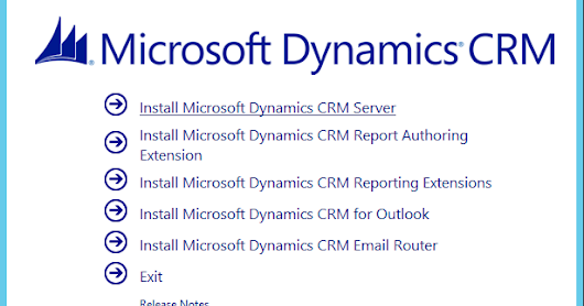 MS CRM 2016 Install - Step by Step Instructions